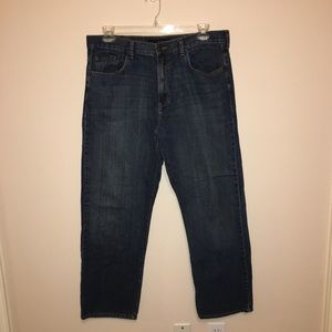 Men's Calvin Klein 36 Relaxed Fit Straight Jeans